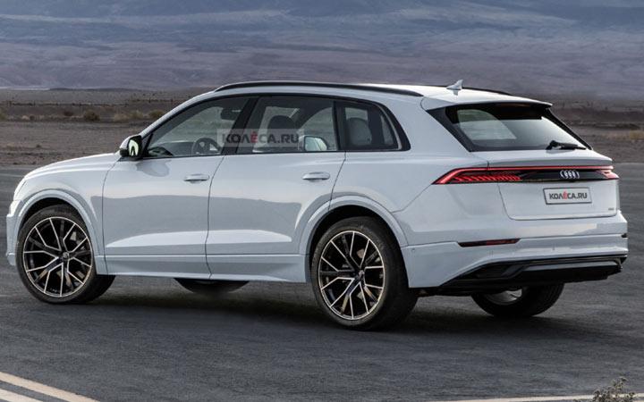 Экстерьер Audi Q9 2019-2020