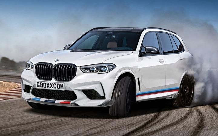 Спортивный внедорожник BMW X5 M 2019-2020