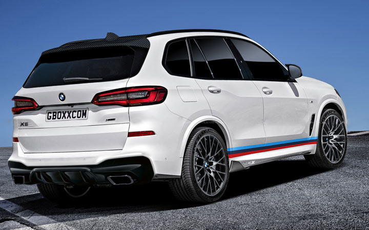 Экстерьер BMW X5 M 2019-2020