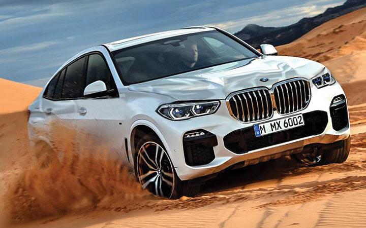 Внедорожник BMW X6 2019-2020