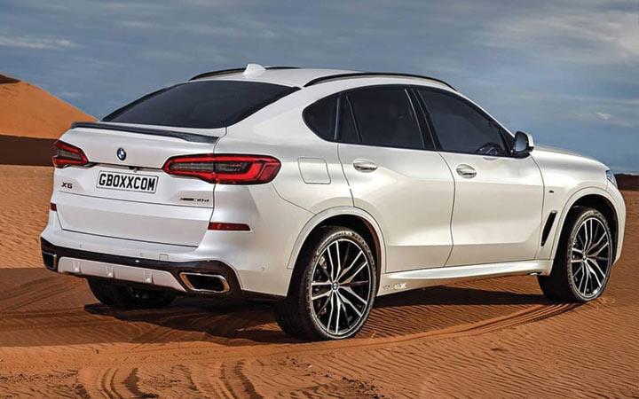 Новый внедорожник BMW X6 2019-2020