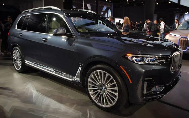 Экстерьер BMW X7 2019-2020
