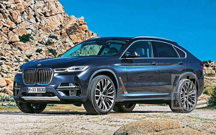 Экстерьер BMW X8 2020 года