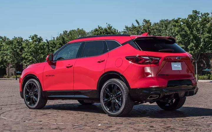 Экстерьер Chevrolet Blazer 2019-2020