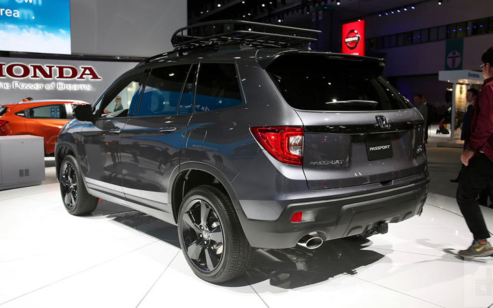 Представлен Honda Passport 2019-2020