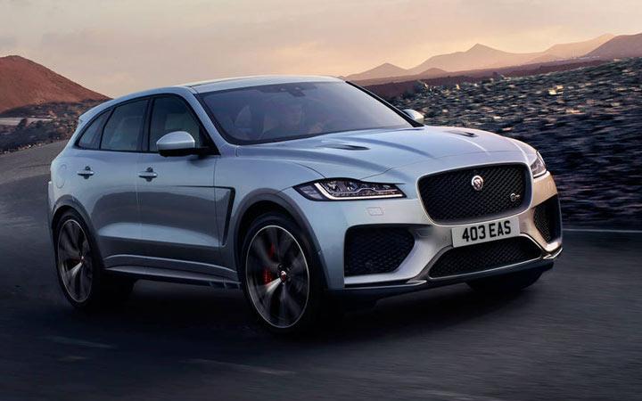 Внедорожник Jaguar J-Pace