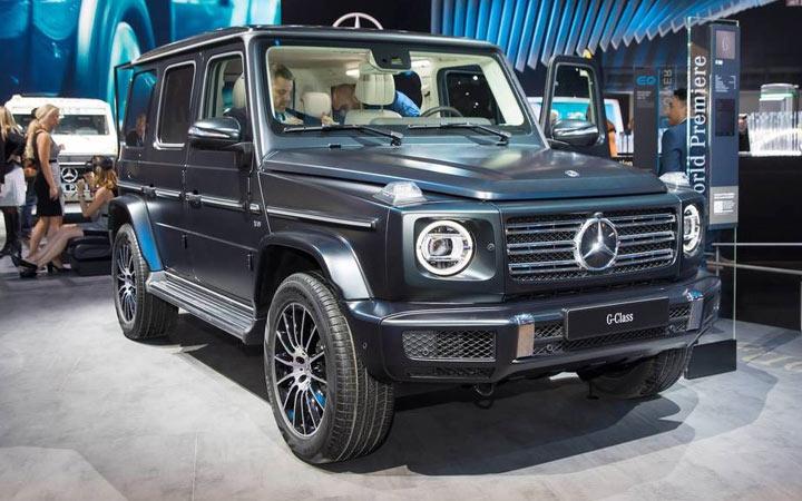 Mercedes-Benz G350d 2019-2020