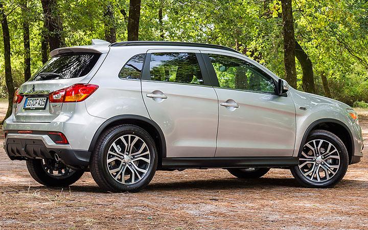 Новый внедорожник Mitsubishi ASX 2019-2020 года