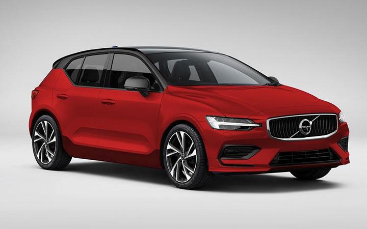 Volvo V40 2019-2020 года