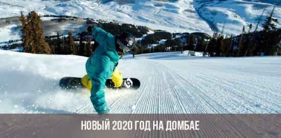Новый 2020 год на Домбае