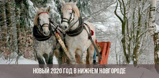 Новый год 2020 в Нижнем Новгороде