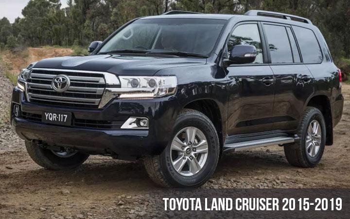 Toyota Land Cruiser 8-е поколение 2015-2019 года