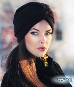 Модная шляпа-тюрбан 2019-2020