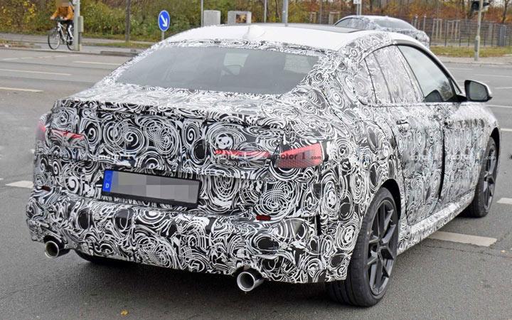 Фото с дорожных испытаний BMW 2-series Gran Coupe 2020 года