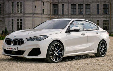 Рендеры BMW 2-series Gran Coupe 2020 года