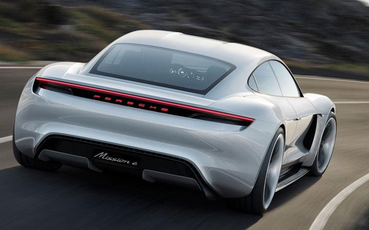 Экстерьер Porsche Mission E 2019-2020 года