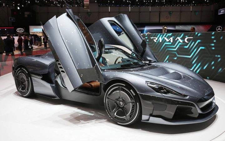 Электрический суперкар Rimac C-Two 2019-2020 года