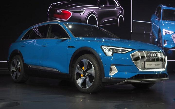 Новый Audi e-tron 2019-2020 года