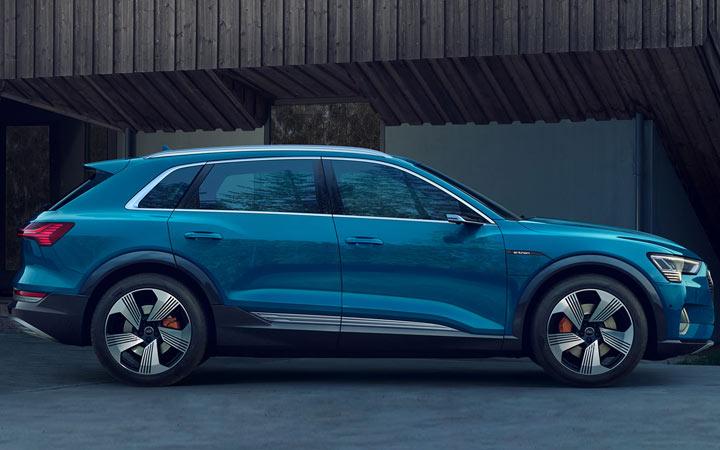 Экстерьер Audi e-tron 2019-2020 года