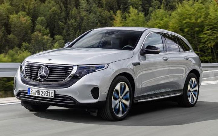 Mercedes EQC 2019-2020 года