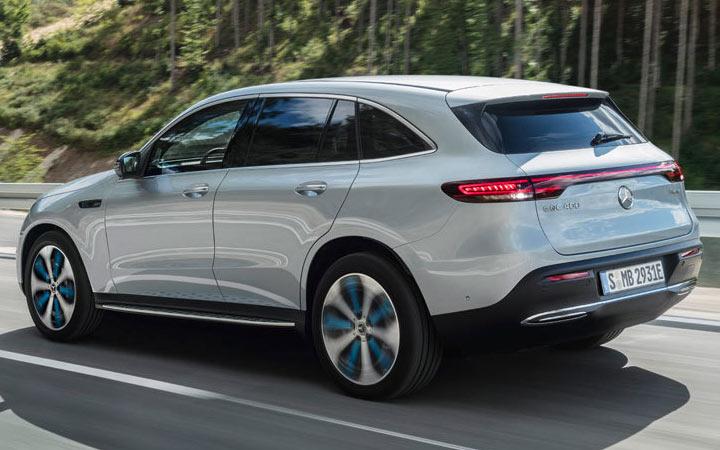 Экстерьер Mercedes EQC 2019-2020 года