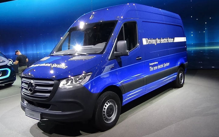 Новый Mercedes-Benz eSprinter 2019-2020 года