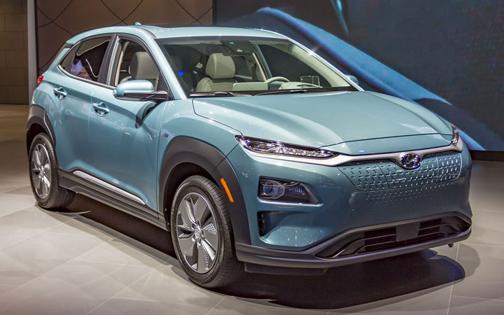 Новый Hyundai Kona Electric 2019-2020 года