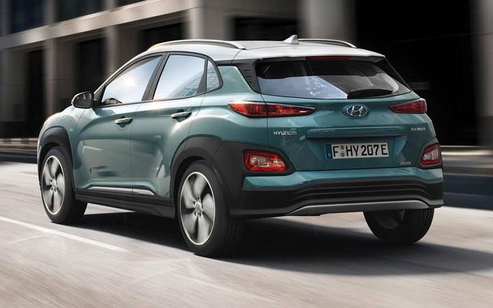 Экстерьер Hyundai Kona Electric 2019-2020 года