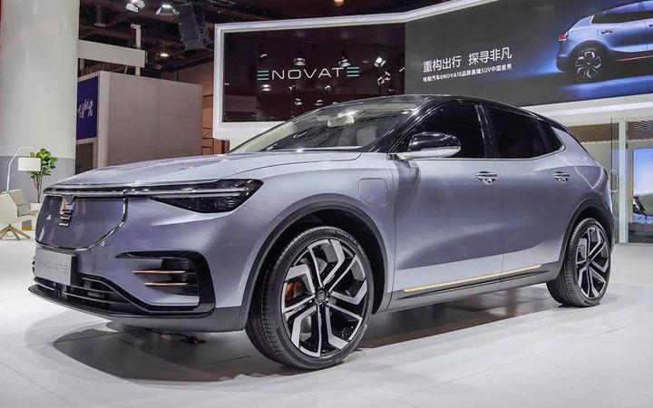 Новый Enovate ME7 2019-2020 года