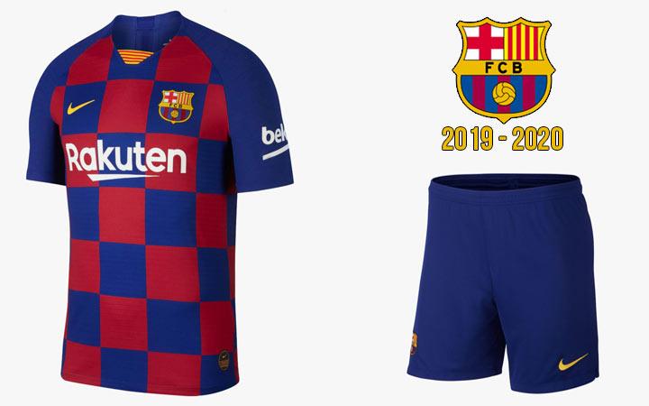 Домашняя форма футбольного клуба Барселона на 2019-2020 год