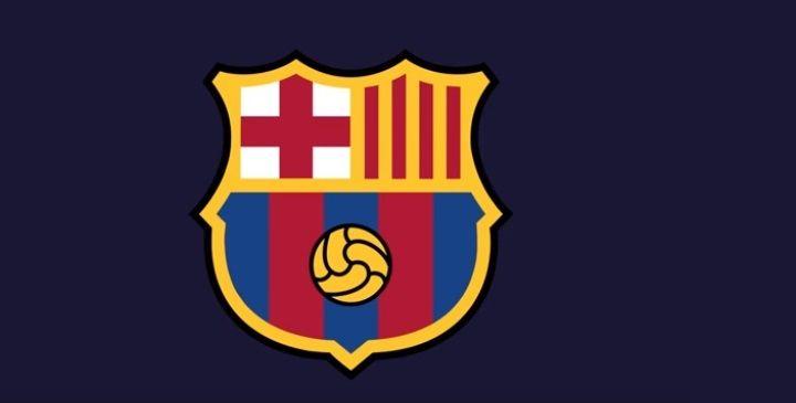Новый герб ФК Барселона на 2019-2020 год