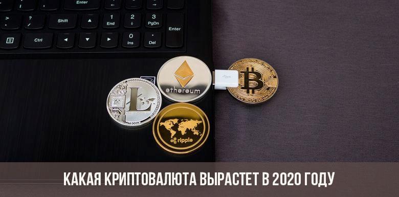 Какая криптовалюта вырастет в 2020 году