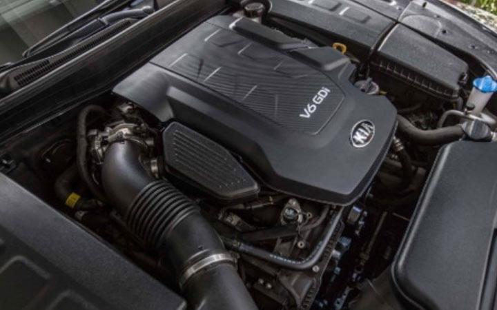 Двигатель Kia Tellutide 2019-2020