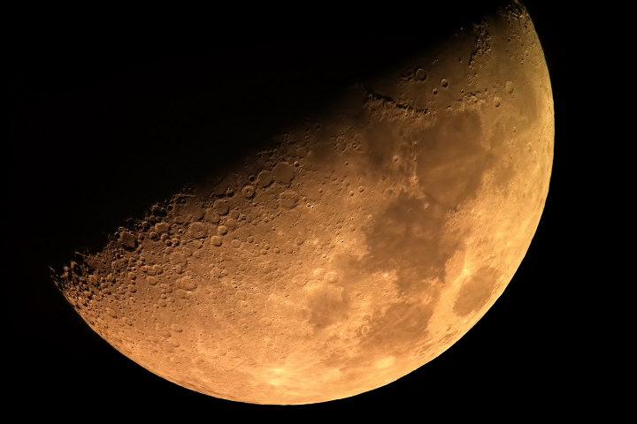 половина луны