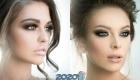Смоки-айс модный макияж на Новый Год 2020