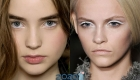 Белый макияж глаз тренд 2020 года