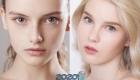 Нюдовый макияж для блондинки