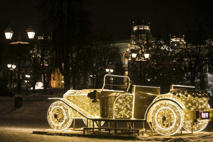Новогодняя ярмарка в Царицыно