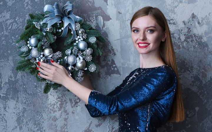 Рождественский (новогодний) венок своими руками на 2020 год