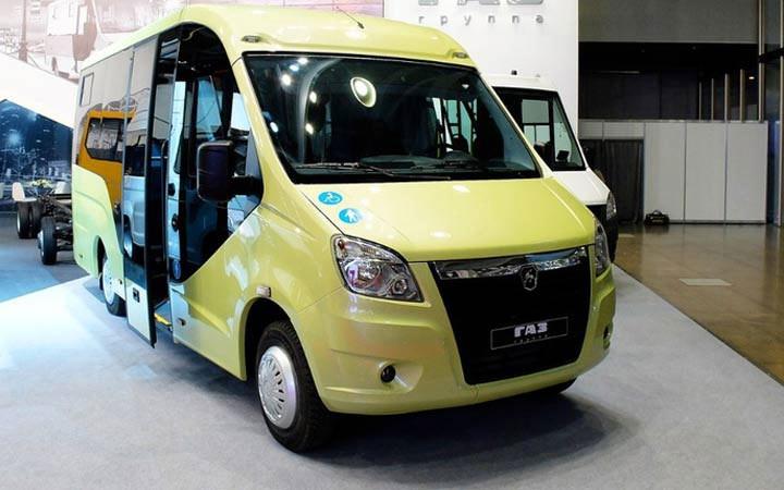 Микроавтобус ГАЗель NEXT 2019-2020 года