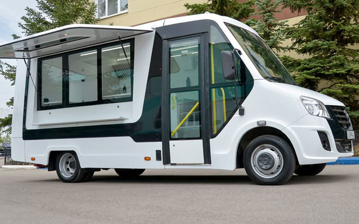 ГАЗель NEXT автолавка 2019-2020 года