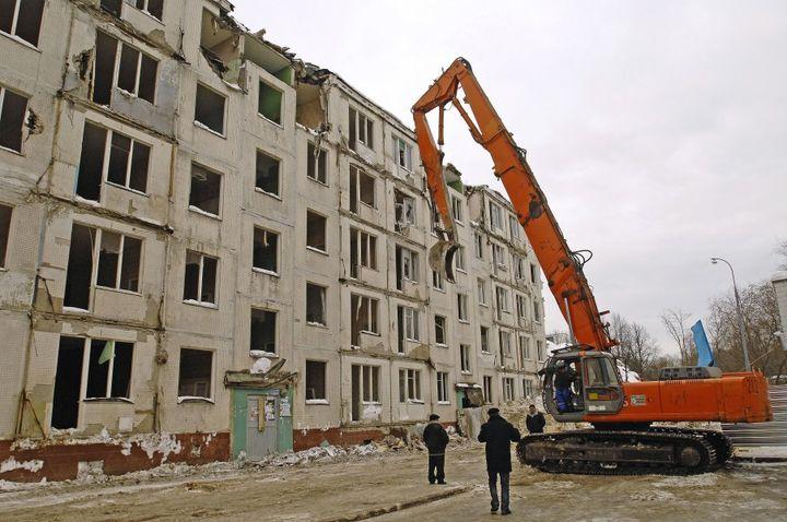 Снос пятиэтажек в ВАО