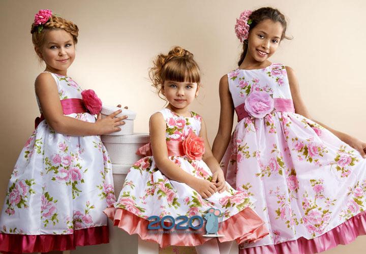 Модные прически для девочек к 2020 году