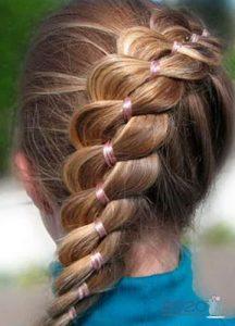 Необычная коса для девочки