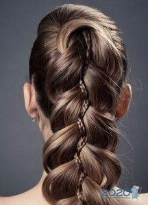 Коса в косе
