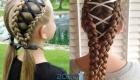 Модные косы со шнуровкой на 2020 год