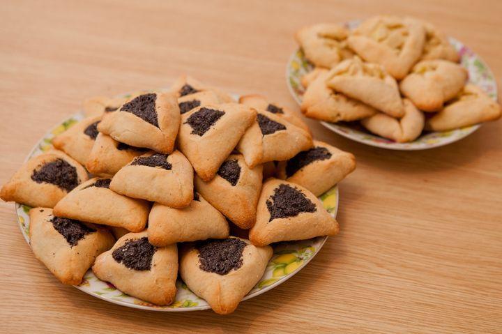 Треугольные пирожки с маком на Пурим