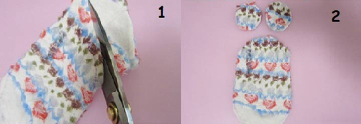 Мышка из носка пошаговая инструкция шаг 1