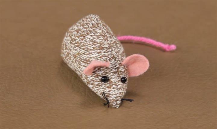 Мышка из трикотажа своими руками на Новый 2020 год