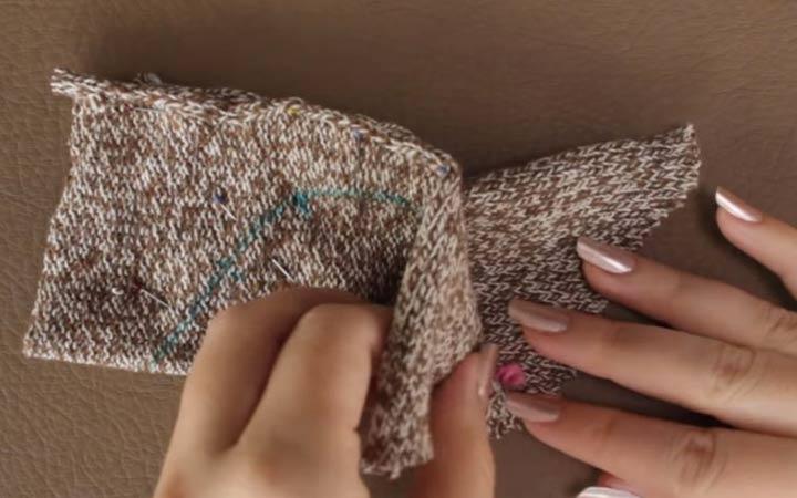 Мышка из трикотажа своими руками шаг 3